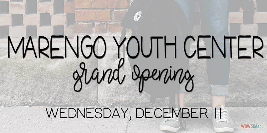 Marengo Youth Center Grand Opening