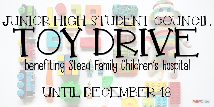 Help us collect donations for the Stead Family Children's Hospital!
